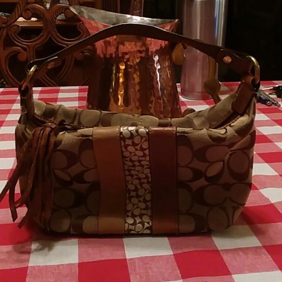 Coach Handbags - !!Sale!! Mini coach handbag